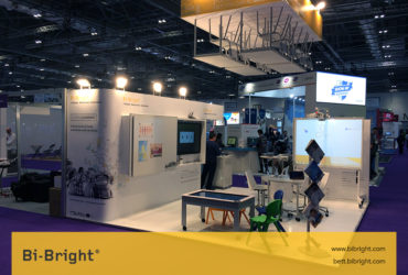 Bi-Bright at Bett Show presenting Flipped Classrooms. Showcase of innovative and accessible interactive products.